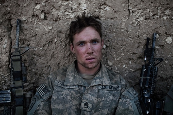 Photo by Adam Ferguson for War/Photography exhibit
