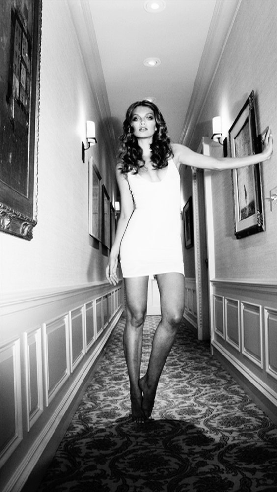 Photo by Cathrine Westergaard for Helmut Newton exhibit