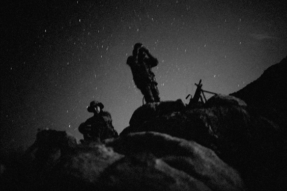 Photo by Eric Bouvet for War/Photography exhibit