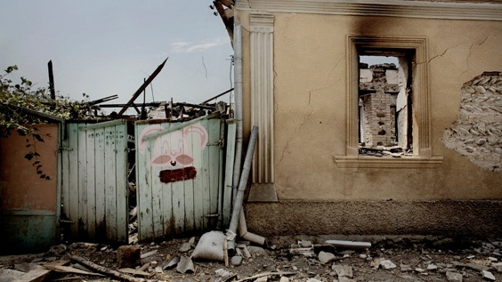Photo by Espen Rasmussen for War/Photography exhibit