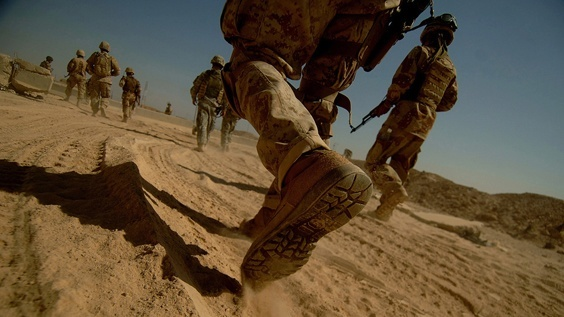 Photo by Jeremy Lock for War/Photography exhibit