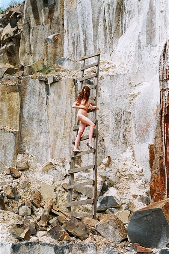 Photo by Synchrodogs for Helmut Newton exhibit