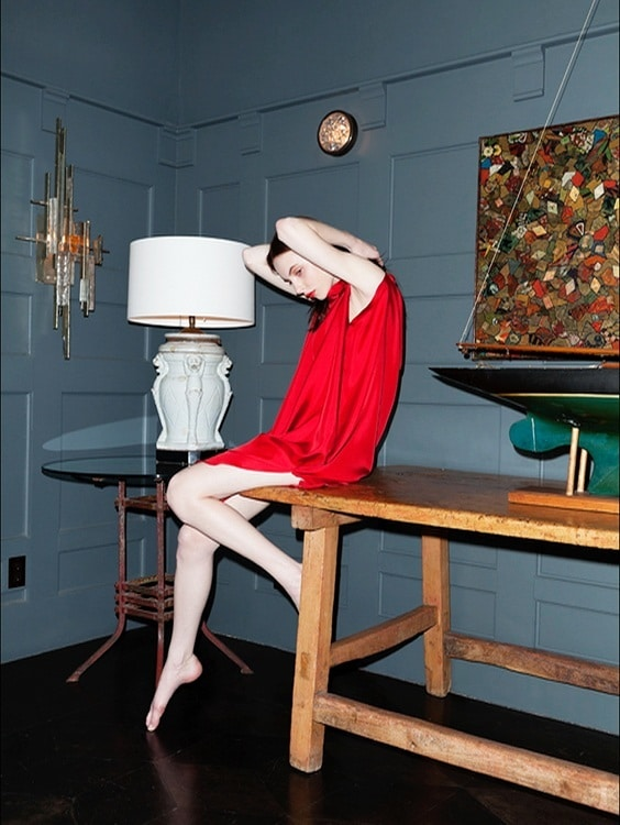 Photo by The Collaborationist for Helmut Newton exhibit