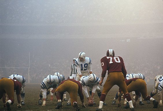 Baltimore Colts vs. Washington Redskins  Baltimore, MD, December 13, 1964