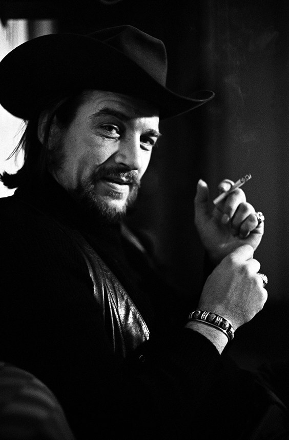 Waylon Jennings, New York City, c. 1973