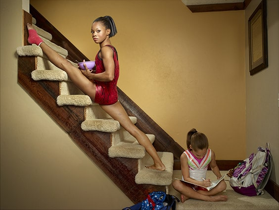 Gabby Douglas, Editorial for Time, West Des Moines, IA 04/19/12