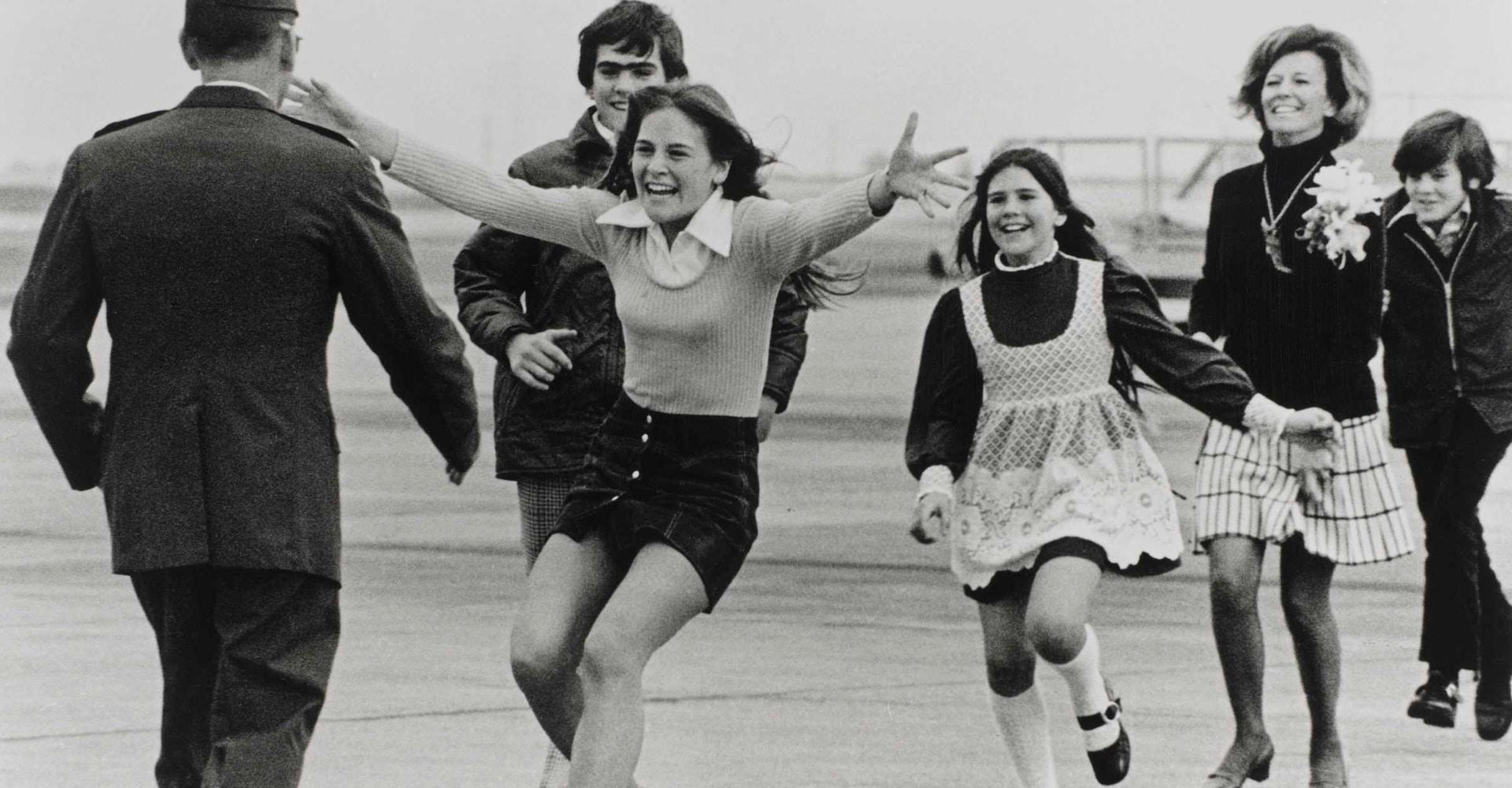 Burst of Joy, Travis Air Force Base - California, March 1973