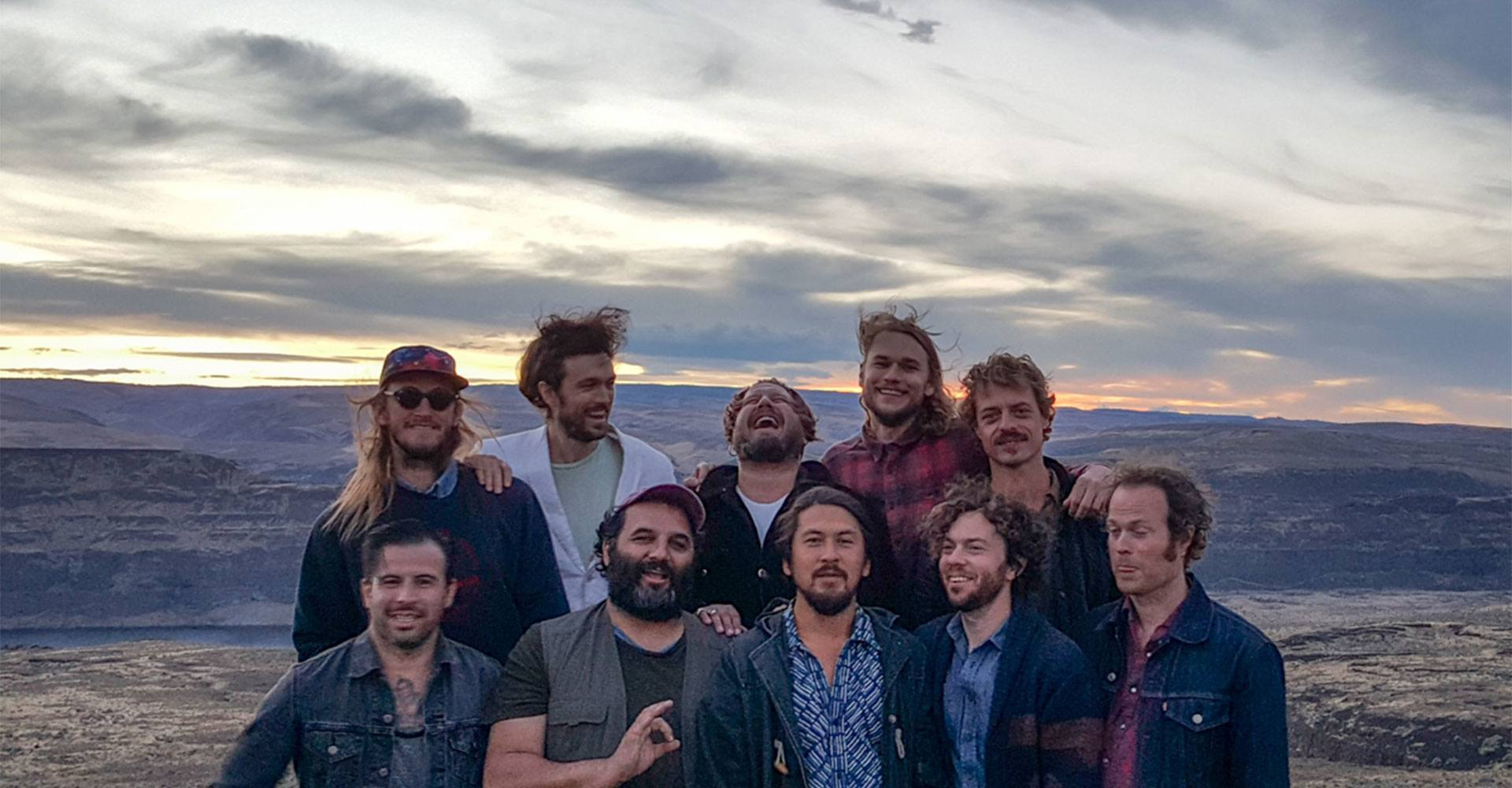 Sound in Focus Concerts: Edward Sharpe and the Magnetic Zeros with Imarhan
