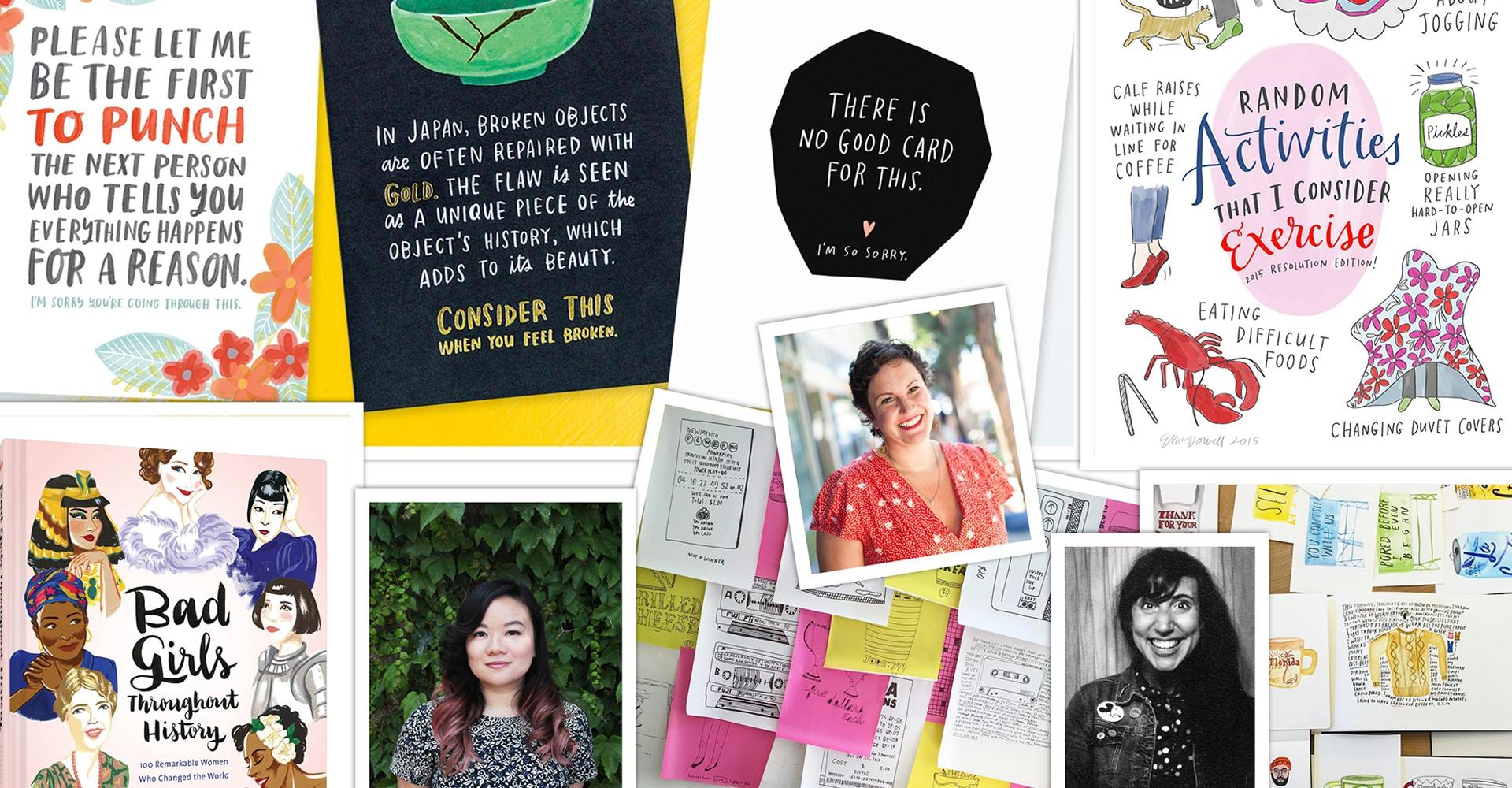 Work It, Girl: Female Illustrators Panel