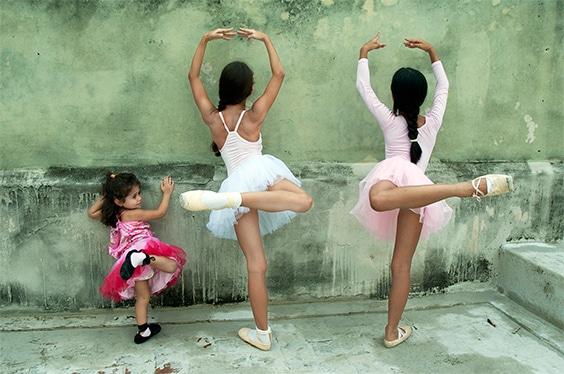 Mia, Avril and Denise, Havana, 2014