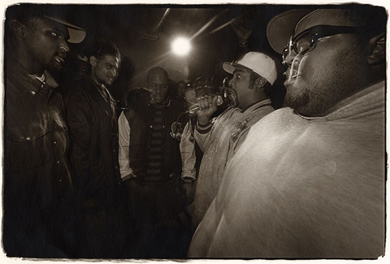 Cipher with Aceyalone, Myka 9, Ganjah K, Volume 10 and Big Al Los Angeles 1992