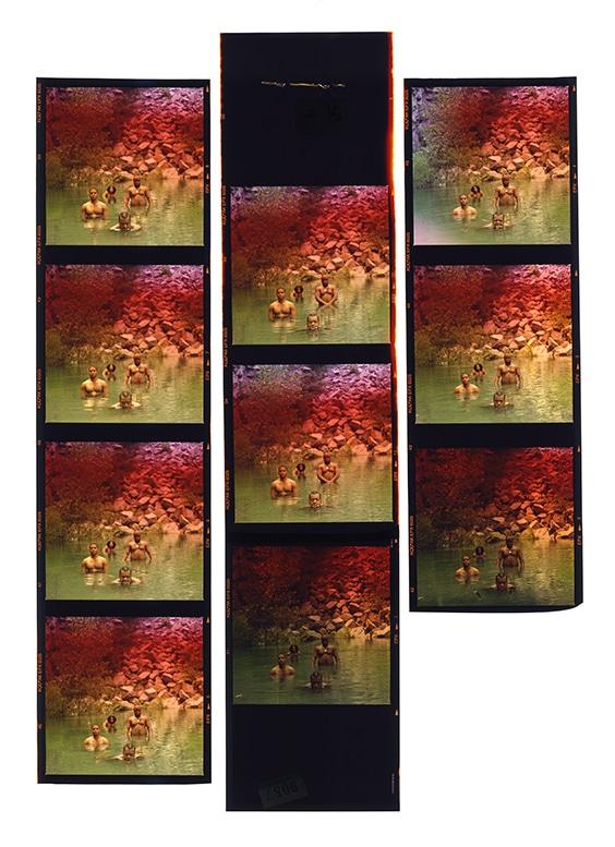 Goodie Mob, Rap Pages cover shoot,  Atlanta, 1995