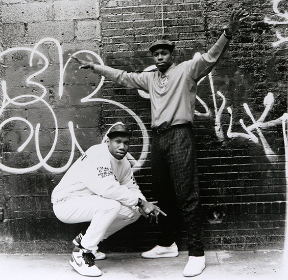 BDP SCOTT LA ROCK & KRS 1 New York City, 1987