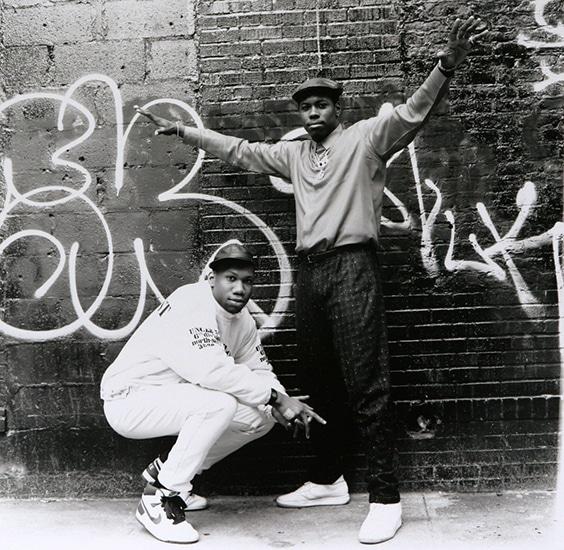 BDP SCOTT LA ROCK & KRS 1 New York City, 1987