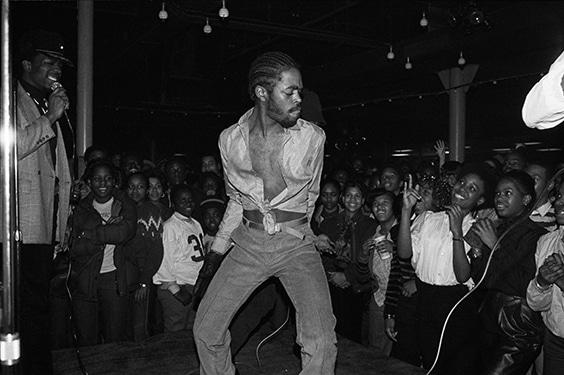 JDL at the Skate Key Roller Rink,  The Bronx, 1981
