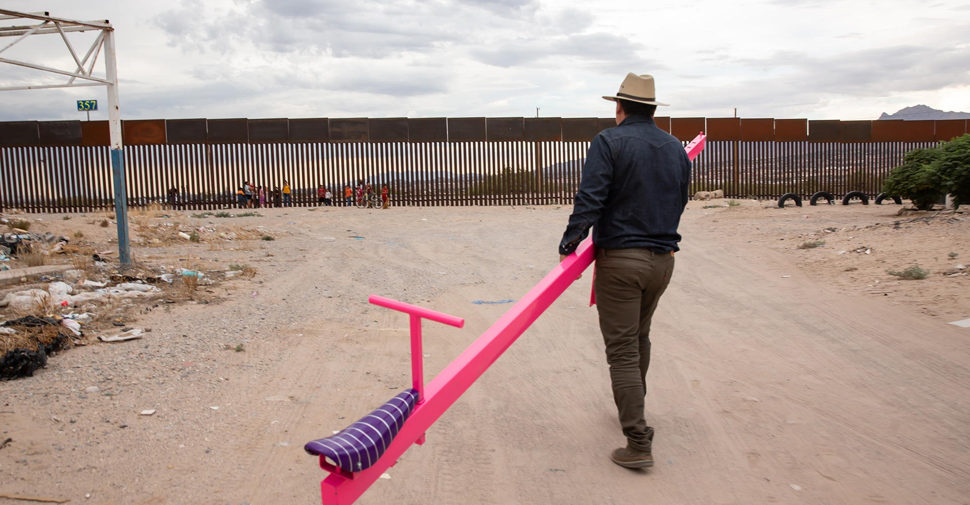 CONVIVENCIA: ART MAKING AT THE U.S. – MEXICO BORDER